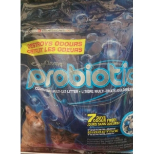Easy Clean Probiotic Clumping Cat Liter