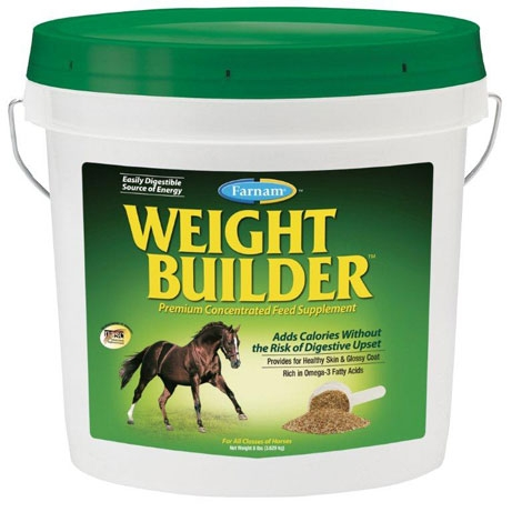 Farnam WeightBuilder Horse Weight Gain Supplement