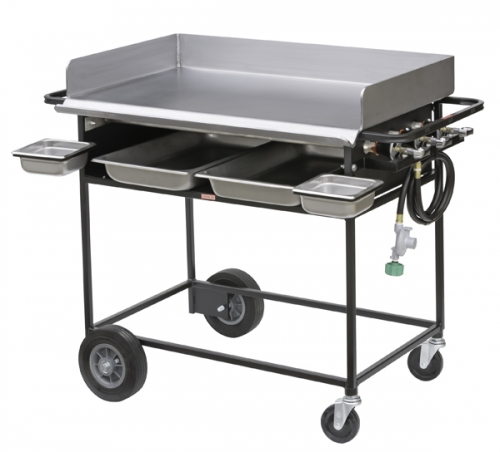 Big John Portable Griddle with Fixed Base, 36