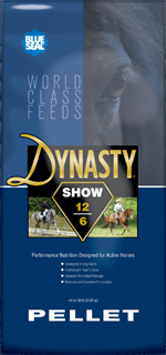 Blue Seal Dynasty Show Pellet Horse Feed
