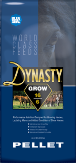 Blue Seal Dynasty Grow Pellet Horse Feed