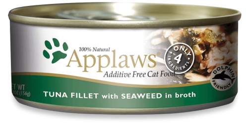 Applaws Tuna Filet with Seaweed Canned Cat Food
