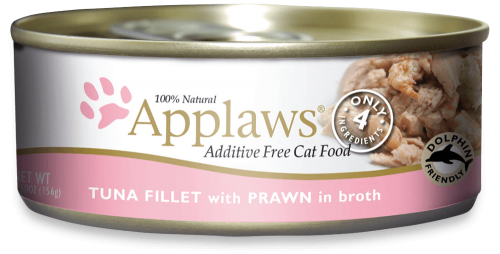 Applaws Tuna Fillet with Prawn Canned Cat Food