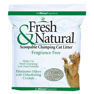 Fresh & Natural™ Fragrance Free Kitty Litter
