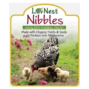 Luv Nest™ Nibbles Heathly Herbal Treat for Chickens