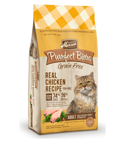 Merrick Purrfect Bistro Real Chicken Recipe Dry Cat Food