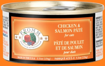 Fromm Four Star Chicken & Salmon Pate Canned Cat Food