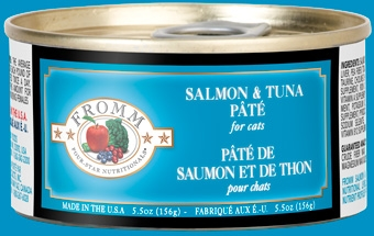 Fromm Four Star Salmon & Tuna Pate Canned Cat Food