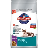 Hill's Science Diet Indoor Age Defying Mature Adult Dry Cat Food