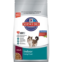 Hill's Science Diet Indoor Long Coat Care Dry Cat Food