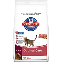 Hill's Science Diet Optimal Care Dry Cat Food