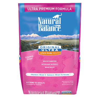 Natural Balance Original Ultra Chicken Meal & Salmon Meal Dry Cat Food