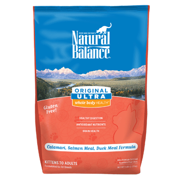 Natural Balance Ultra Calamari, Salmon Meal & Duck Meal Dry Cat Food