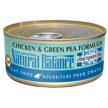 Natural Balance L.I.D. Chicken & Green Pea Canned Cat Food