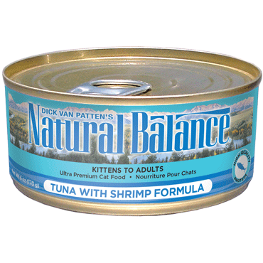 Natural Balance Ultra Premium Tuna with Shrimp Canned Cat Food