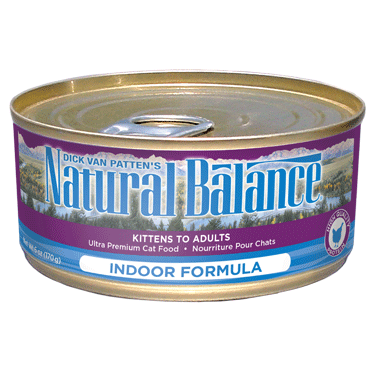 Natural Balance Ultra Premium Indoor Canned Cat Food