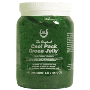 Cool Pack Green Jelly Cooling Gel for Horses