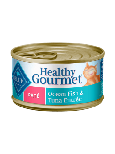 Blue Buffalo Healthy Gourmet Ocean Fish & Tuna Canned Cat Food