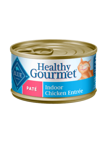 Blue Buffalo Healthy Gourmet Indoor Chicken Pate Canned Cat Food