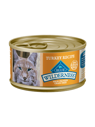Blue Buffalo Wilderness Turkey Canned Cat Food