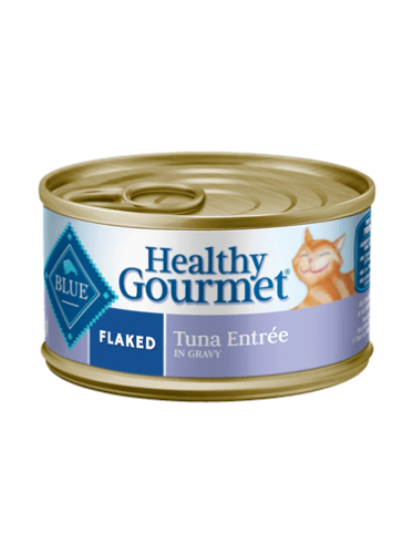 Blue Buffalo Healthy Gourmet Flaked Tuna Canned Cat Food