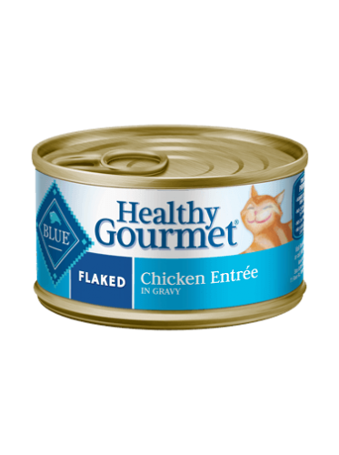 Blue Buffalo Healthy Gourmet Flaked Chicken Canned Cat Food