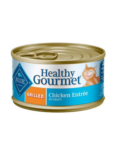 Blue Buffalo Healthy Gourmet Grilled Chicken Canned Cat Food