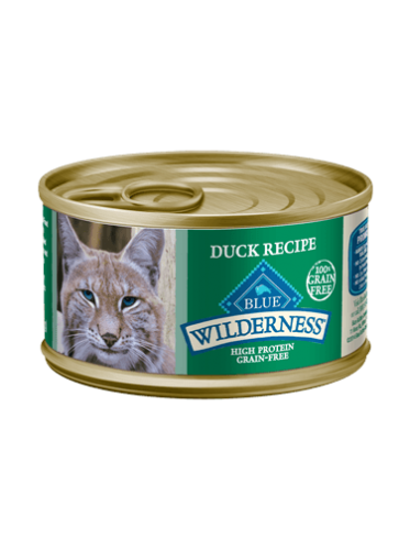 Blue Buffalo Wilderness Duck Canned Cat Food