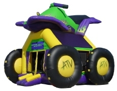ATV Inflatable Bounce House