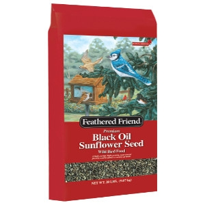 Feathered Friend Black Oil Sunflower Seed 20lb