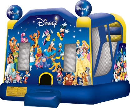 World of Disney 4-Combo Bounce House