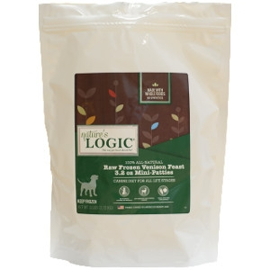 Nature's Logic Raw Canine Frozen Food - Venison