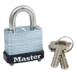 Master Padlock with Key- Assorted Locks