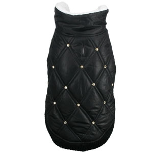 Rhinestone Puffer Vest for Dogs