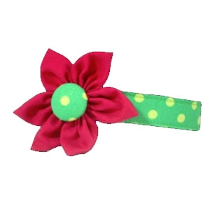 Hounds Abound Deck the Halls Flower Collar