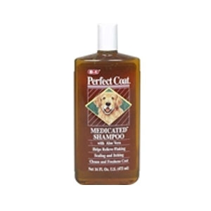 Perfect Coat Medicated Shampoo 16oz