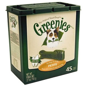 Greenies Original Smart Treat Tub Pak PT 27oz for Dogs