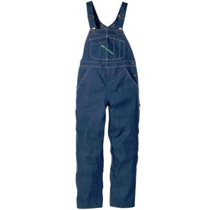 Rinsed Washed Bib Overall - Zipper Fly