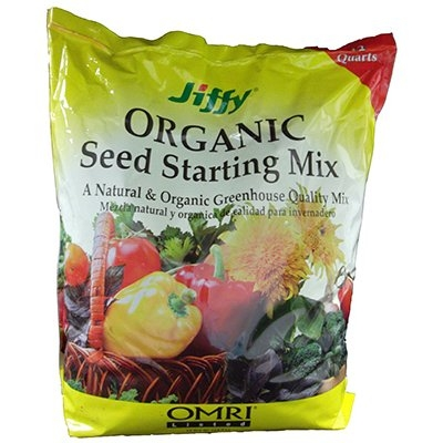 Jiffy Organic Seed Starting Mix, 12-Qts.