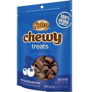 Nutro 4oz Chewy Dog Treats With Real Apples
