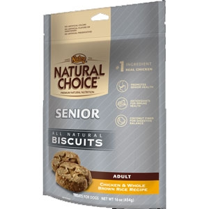 Nutro Natural Choice 16oz Senior Dog Biscuits