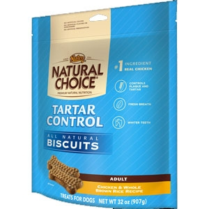Nutro Natural Choice 16oz Tartar Control Dog Biscuits