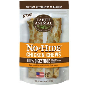 No-Hide Chicken Chews 7in For Dogs
