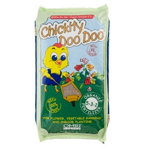Chickity Doo Doo Organic Fertilizer 5-3-2 25lb