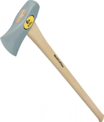 Vulcan® 6 Pound Splitting Maul with Wooden Handle