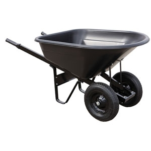 Master Gardner Yard Tek Pro Wheelbarrow 8 cu ft