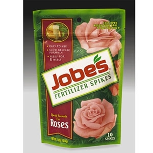 Jobe's Rose Fertilizer Spikes 10/Pk