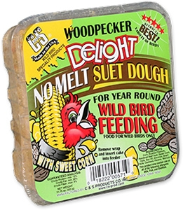 C&S Woodpecker Delight No Melt Wild Bird Suet Dough