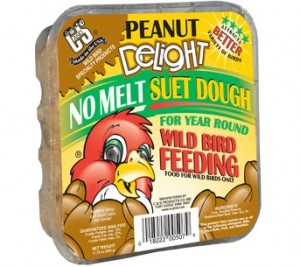 C&S Peanut Delight No Melt Wild Bird Suet Dough