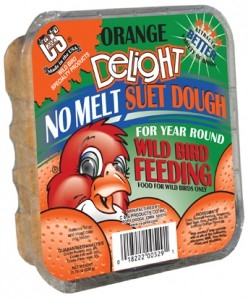 C&S Orange Delight No Melt Wild Bird Suet Dough